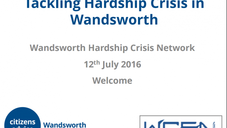 Tackling Hardship Crisis in Wandsworth