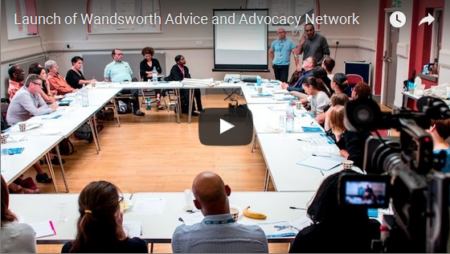 Launch of Wandsworth Advice and Advocacy Network