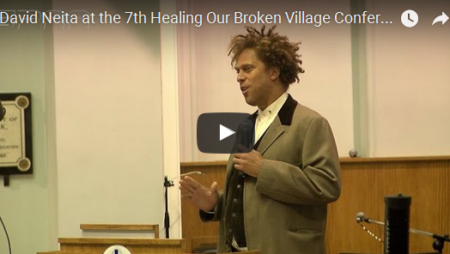 David Neita at the 7th Healing Our Broken Village Conference