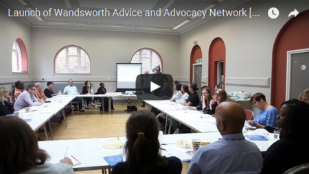 Launch of Wandsworth Advice and Advocacy Network [Preview]