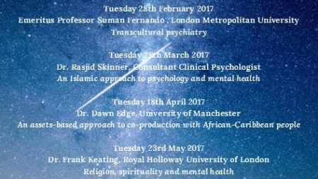Faith, Community and Mental Health Lectures