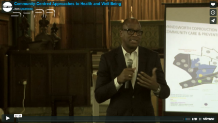 Community centered approaches to health and well being