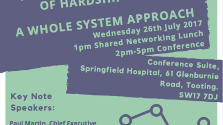 UPDATE: Hardship Crisis Conference 26th July 2017