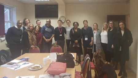 Darzi 9 fellows come and meet with WCEN to hear about Wandsworth coproduction