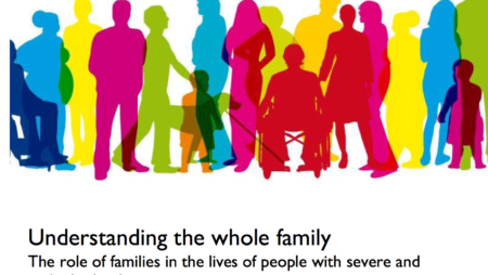 Understanding the whole family: The role of families in the lives of people with severe and multiple disadvantage
